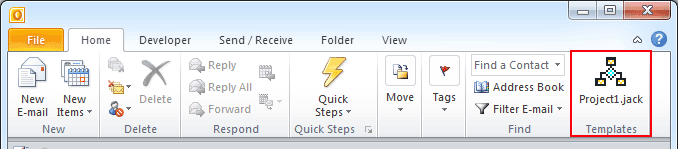 how to create an oft file in outlook 2010