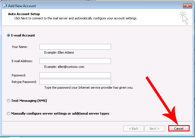 how to create a vcard without outlook in windows 7