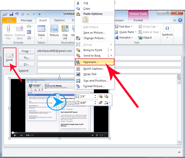 Add Hyperlink To Image In Paint